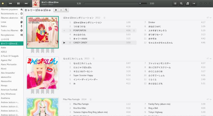 Ya, sí. Tengo la discografía de Adele.