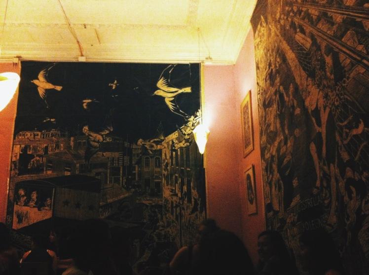 Tertulia y sus bellos muros.