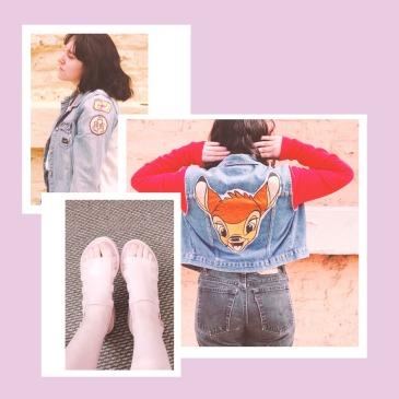 Chaquetas, unos Melissa y broderie: la historia de cómo he modificado y reparado mi ropa